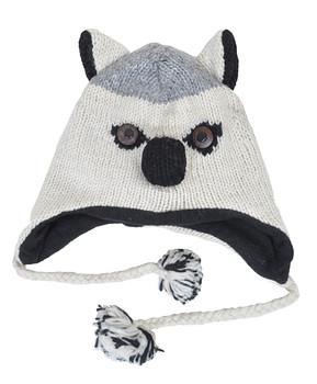Wool Animal Hats Husky - AHW700