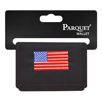 Men's Polyester Tri-fold Velcro Wallets MW10111