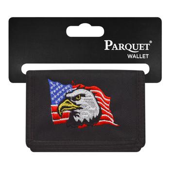 Men's Polyester Tri-fold Velcro Wallets MW10119