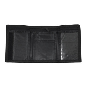 Men's Polyester Tri-fold Velcro Wallets MW10122