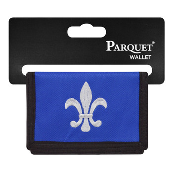 Men's Polyester Tri-fold Velcro Wallets MW10123