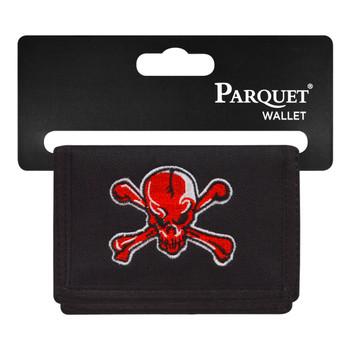 Men's Polyester Tri-fold Velcro Wallets MW10126