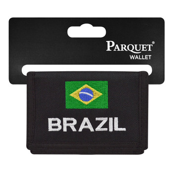 Men's Polyester Tri-fold Velcro Wallets MW10127