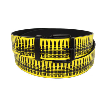 Men's Ammunition Round Buckle Belts