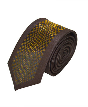 "Microfiber Poly Woven Panel Tie SLIM 2.25"" MPWS5055"