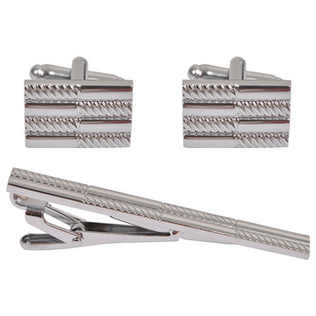 Cufflink and Tie Bar Set CTB2502