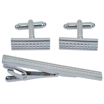 Cufflink and Tie Bar Set CTB2516