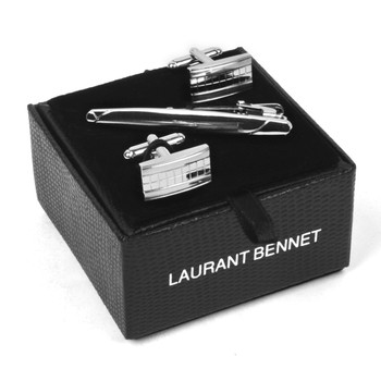 Cufflink and Tie Bar Set CTB2534