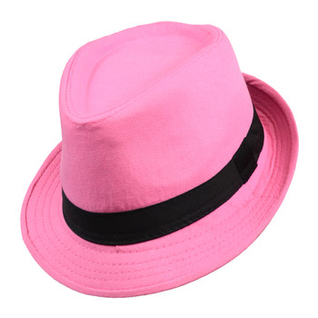 Spring/Summer Solid Trilby Fedora Hat H10342