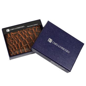 Bi-Fold Genuine Leather Wallet MGLW-A36