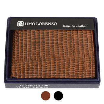 Bi-Fold Genuine Leather Lizard Wallet MGLW-A27L