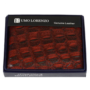 Bi-Fold Genuine Leather Burgundy Wallet MGLW-CR2446