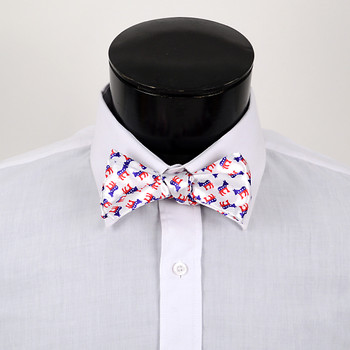 Men's Democrat Donkey Self-Tie Freestyle Bow Tie NFSB-D