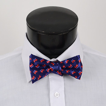 Men's Republican Self-Tie Freestyle Bow Tie NFSB-R