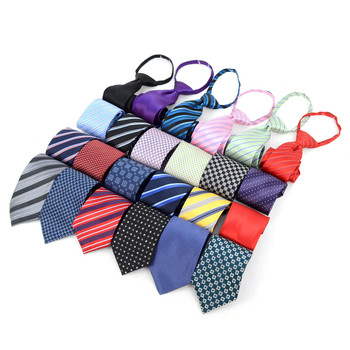 "24pc Assorted Boy's 14"" Micro Woven Zipper Ties MPWZ14-02ASST"