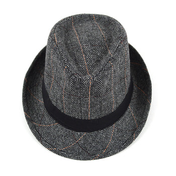 Fall/Winter Gray Westend Trilby Fedora Hats H10371-GRY