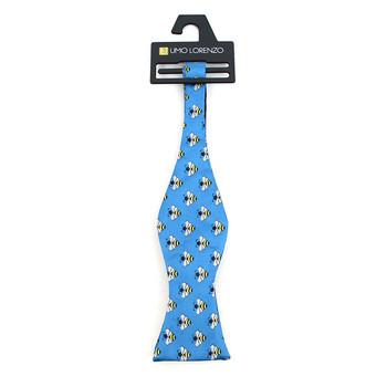 Men's Blue Bee Self-Tie Freestyle Bow Tie