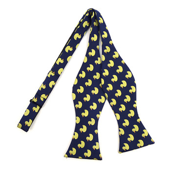 Men's Blue Duck Self-Tie Freestyle Bow Tie (FBMP10026)