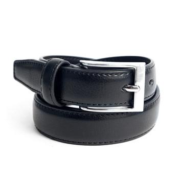 Boy's Genuine Leather Dress Black Belt BOYB0602