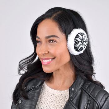 72pc Random Assorted Prepack Knitted Ear Muffs EMK-ASST