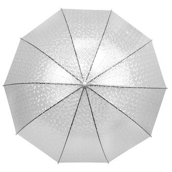 Polka Dots See-Thru Premium Clear Umbrella  UM5002