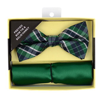 24pc Pack Assorted Bow Tie & Matching Hanky BTHB5000