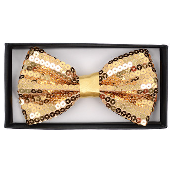 "Men's 2.5"" Sequin Banded Bow Ties SQBT"
