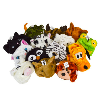 72pc Random Assorted Animal Hats HATC72ASST