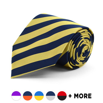 Boy's Microfiber Poly Woven College Tie MPWB2400
