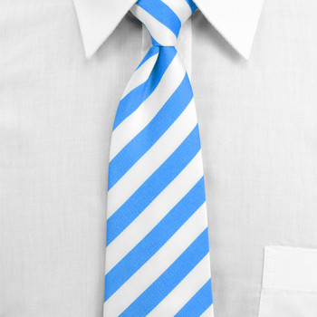 Men's Microfiber Poly Woven College Tie MPWC2400