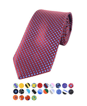 Boy's Micro Poly Woven Tie MPWB3301