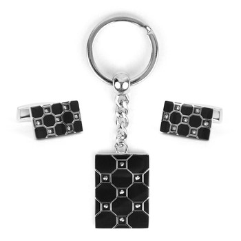 Cufflink & Key Chain Set CKB214
