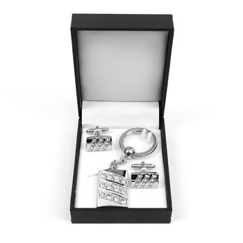 Cufflink & Key Chain Set CKB217