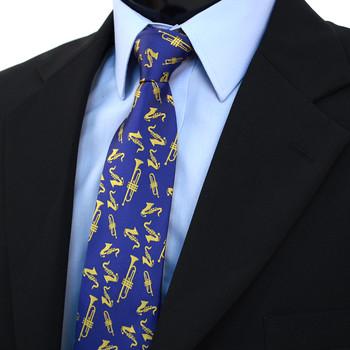 Brass Instruments Novelty Tie