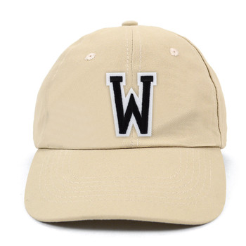 Varsity Letter Initials Traditional Cotton Twill Embroidery Patch Blank Baseball Cap, Hat (IPCOCAP4)