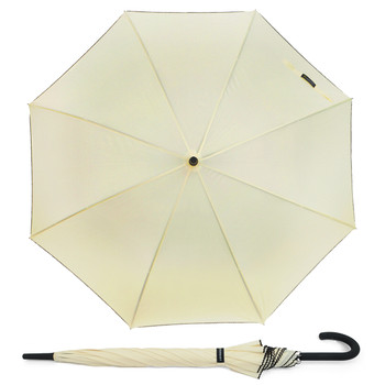 12pc Auto-Open Umbrella with Braided Cord Trim UL1705