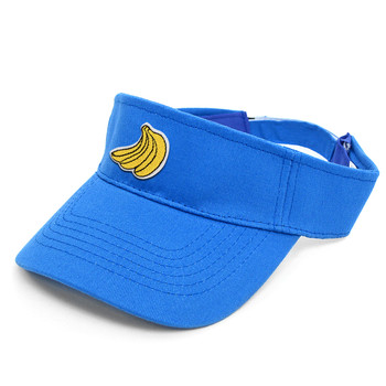 Patched Cotton Twill Sun Visors Hat