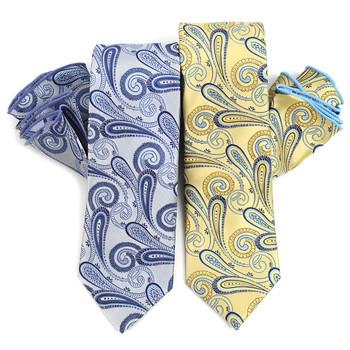 Paisley Tie & Matching Pocket Round Set MPWTH170335
