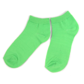 Assorted Pack (6 pairs) Women's Solid Color Low Cut Socks LN6S-606