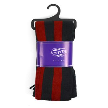 12pc Assorted Pack Scottish Acrylic Winter Scarf - AKS10423ASST
