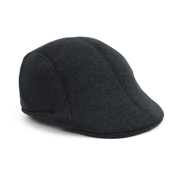 Fall/Winter Solid Charcoal Ivy Hat - IFW1730-CHAR