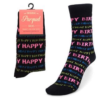 Women's Happy Birthday Novelty Socks LNVS1733