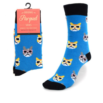 Women's Cool Cats Novelty Socks LNVS1736