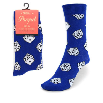 Women's Dice Pattern Novelty Socks LNVS1746