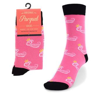 Women's Queen Novelty Socks LNVS1760