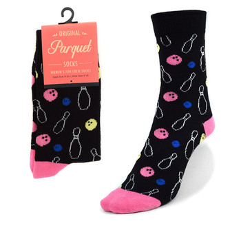 Women's Bowling Novelty Socks LNVS1761