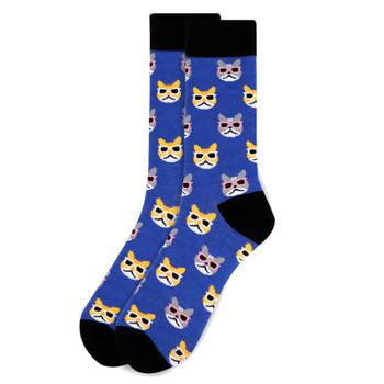 Men's Cool Cats Novelty Socks NVS1745