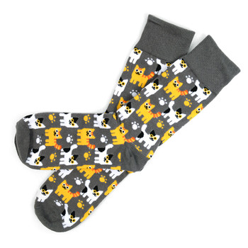 12pairs Men's Kittens Novelty Socks NVS1747