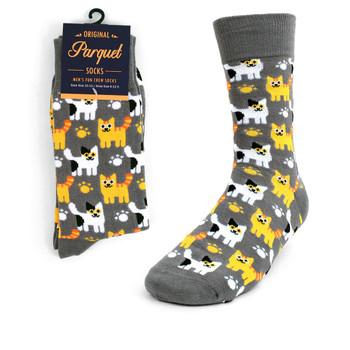 Men's Kittens Novelty Socks NVS1747