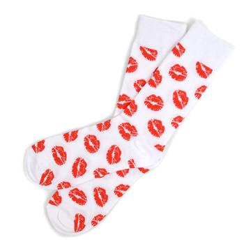 12pairs Men's Lips Novelty Socks NVS1760-61